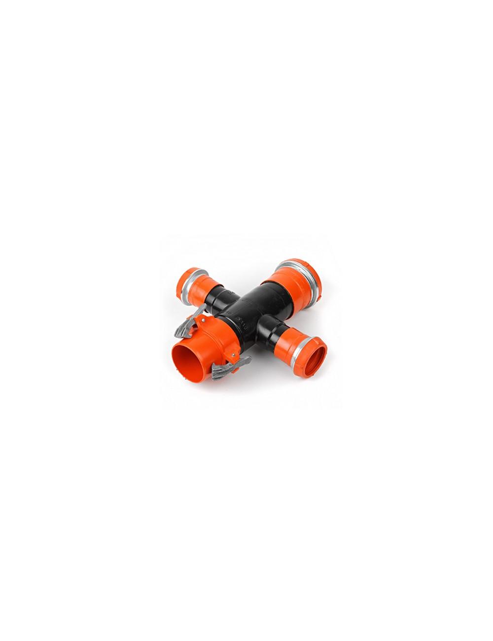 Conexiune Tip Cruce ∅140x125x140x125 - CXC140/125
