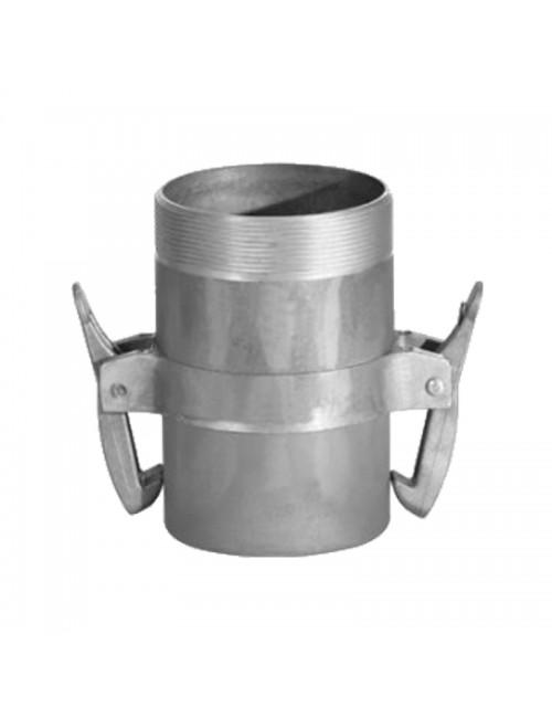 Adaptor cu filet exterior - TATA - ∅140 - cu clesti